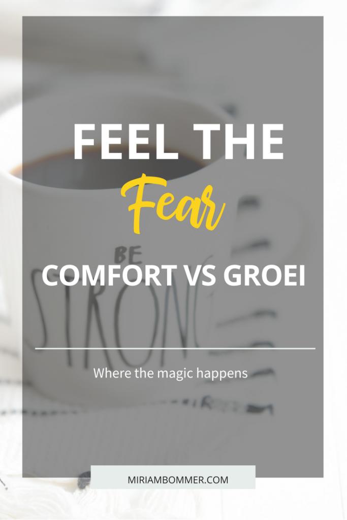 Buiten je comfortzone gaan kan ongemakkelijk zijn. Als ondernemer moet je vaak dingen doen buiten je comfortzone. Dit is nodig om vooruit te komen, stappen te zetten.
